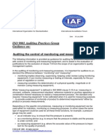 Apg-Iso9001clause7.6.Doc Monitoring and Measuring Equipments