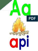 Huruf a-z (Gambar&Perkataan)