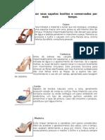 Aprenda a Deixar Seus Sapatos Bonitos e Conservados Por Muito Mais Tempo