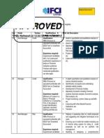IFCI Job Description
