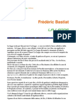 Bastiat - La Legge