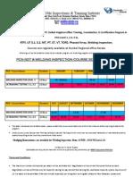 Arl-Decibel Pcn Schedule