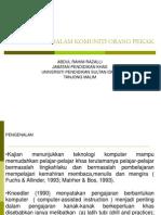 Aplikasi Ict Dalam Komuniti Pekak PDF