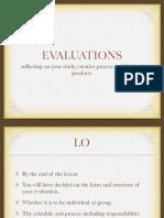 Evalautions AP