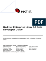 Red Hat Enterprise Linux 7 Beta Developer Guide en US