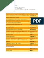 Calendario Académico 2014 - C