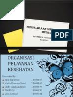 Organisasi Pelayanan Kesehatan