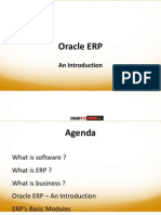 Oracle ERP - Basics