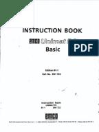emco star instruction book