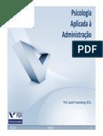 Psicologia Aplicada ADM - 2013 2 - Seção 02