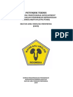 PETUNJUK TEKNIS CONTINUING PROFESSIONAL DEVELOPMENT PENGEMBANGAN PENDIDIKAN KEPROFESIAN BERKELANJUTAN (CPD/P2KB)