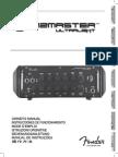 Jazzmaster Ultralight Head Manual