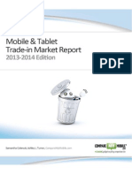 Mobile and Tablet Trade-In Market Report 2013-2014