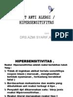 Kp 9. 8 Obat Obat Anti Alergi - 2013 (1)
