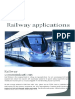 Axell Railway Applications Brochure