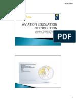 Aviation Legislation Introduction