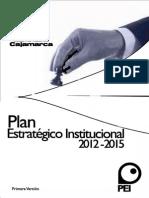 Plan Estratégico Institucional 2012 - 2015