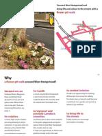Flower Pit Walk in West Hampstead