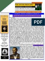 The Divine Principle - Volume No. 2 Edition 10. Oct. 2010.2-1.1