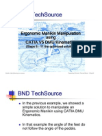 CATIA V5R17 Manikin_Kinematic_Optimization