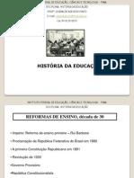 Historia Republica Velha a Vargas Outubro