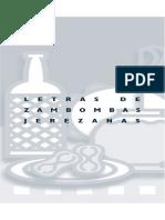 Letras Zambombas Jerezanas