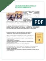 DEBILIDAD DEL IMPERIO ROMANO Y LAS REFORMAS BORBÓNICAS