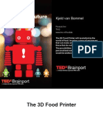 TNO Food Printer