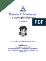 Damodar K. Mavalankar, A Theosophical Pioneer