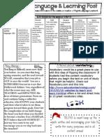 ESL News Letter Wk 17