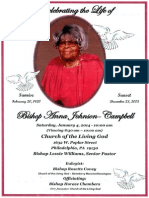 Bishop Anna Johnson Campbell