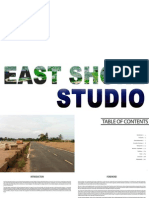 Hunter East Shore Studio Plan - Full Book Spread