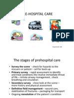 Pre Hospital Care