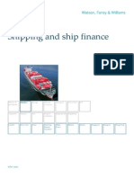 Shipping and Ship Finance