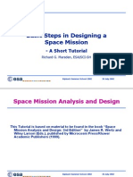 Marsden-Basic Steps in Designing a Space Mission