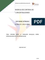 Informe Operación de Concentración SCPM, Ecuador