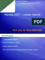 CURS 7 - Create ReportsS