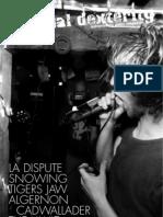 Manual Dexterity Music Zine Summer 2009