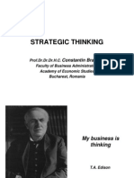 BS 01 Strategic Thinking
