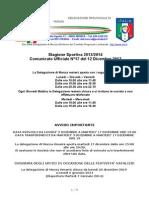 Comunicato 17 Monza