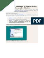 AppServ y la Instalación de Apache