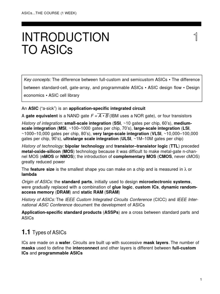 Asic Ppt Complete