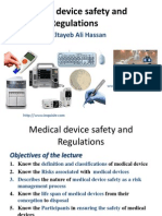 Medical Product Safety and Regulation