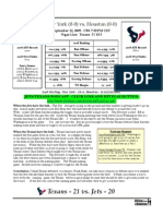 Jets Texans Writeup