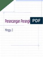 Perancangan Perangkat Lunak Mg Ke 3