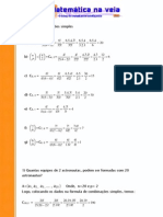 exercícios de nálise combinatoria_matematica_na_veia