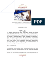 Jewish Tradition, The Bible as History