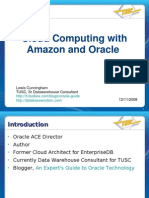Presentation - Cloud Computing With Amazon and Oracle