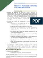 FACTORES TÉCNICOS PARA LOS SISTEMAS DE FITORREMEDIACIÓN