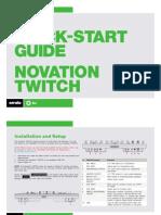Novation Twitch Quickstart Guide for Serato DJ